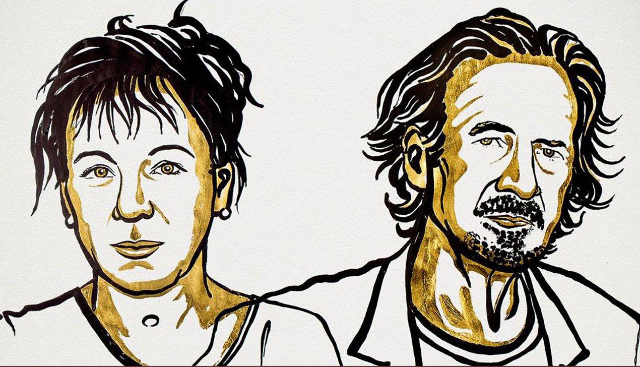 В Швеции вручили сразу две Нобелевские премии по литературе