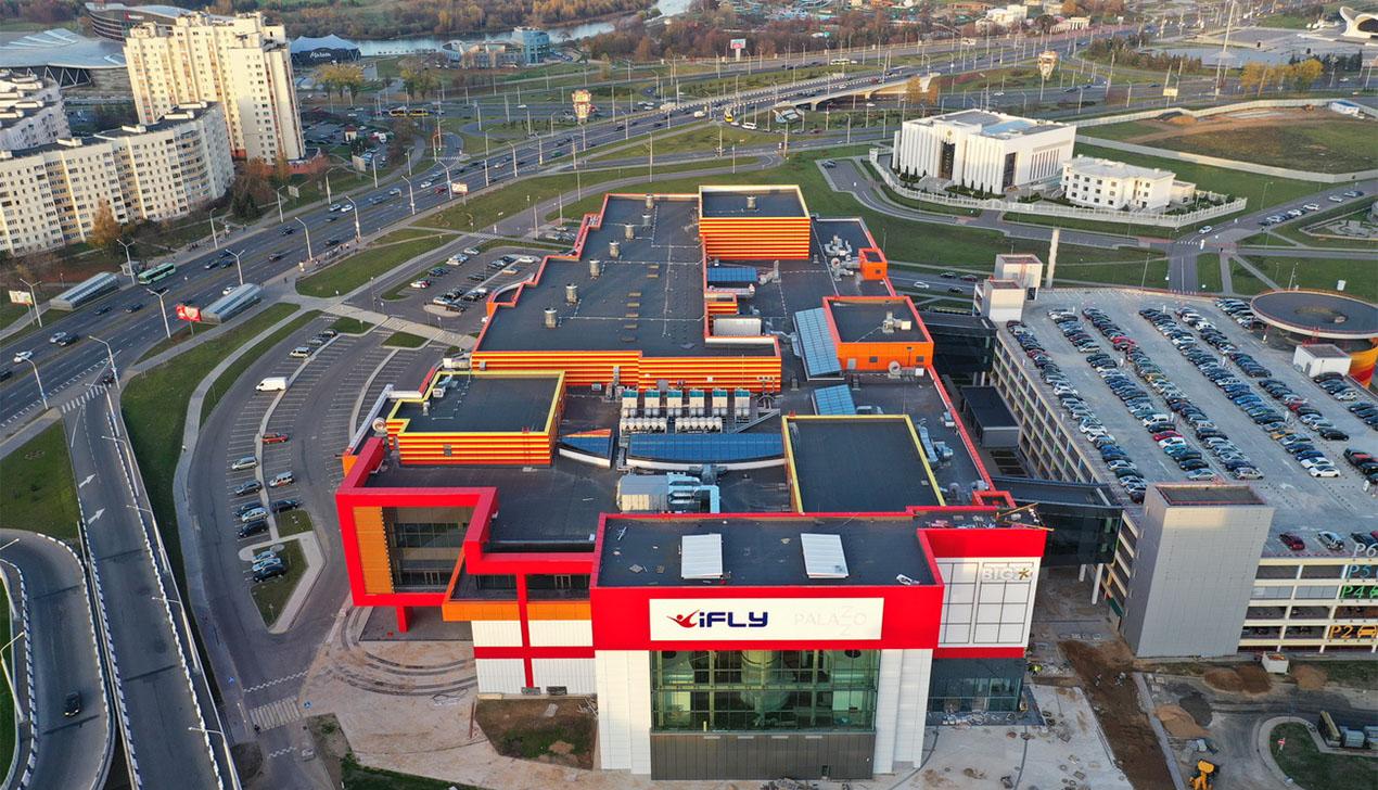 В Минске открывается ТРЦ Palazzo: в него вложили более 100 млн долларов