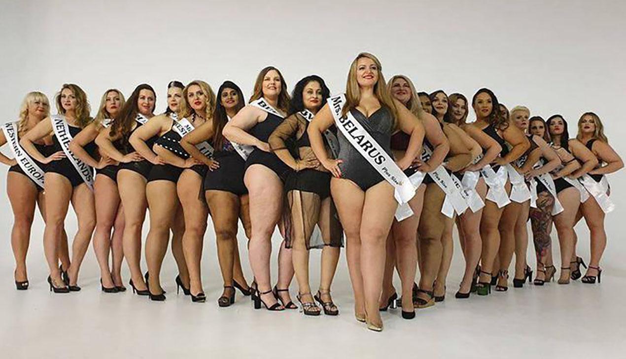 Беларуска завоевала титул вице-мисс на конкурсе «Мисс Мира Plus Size»