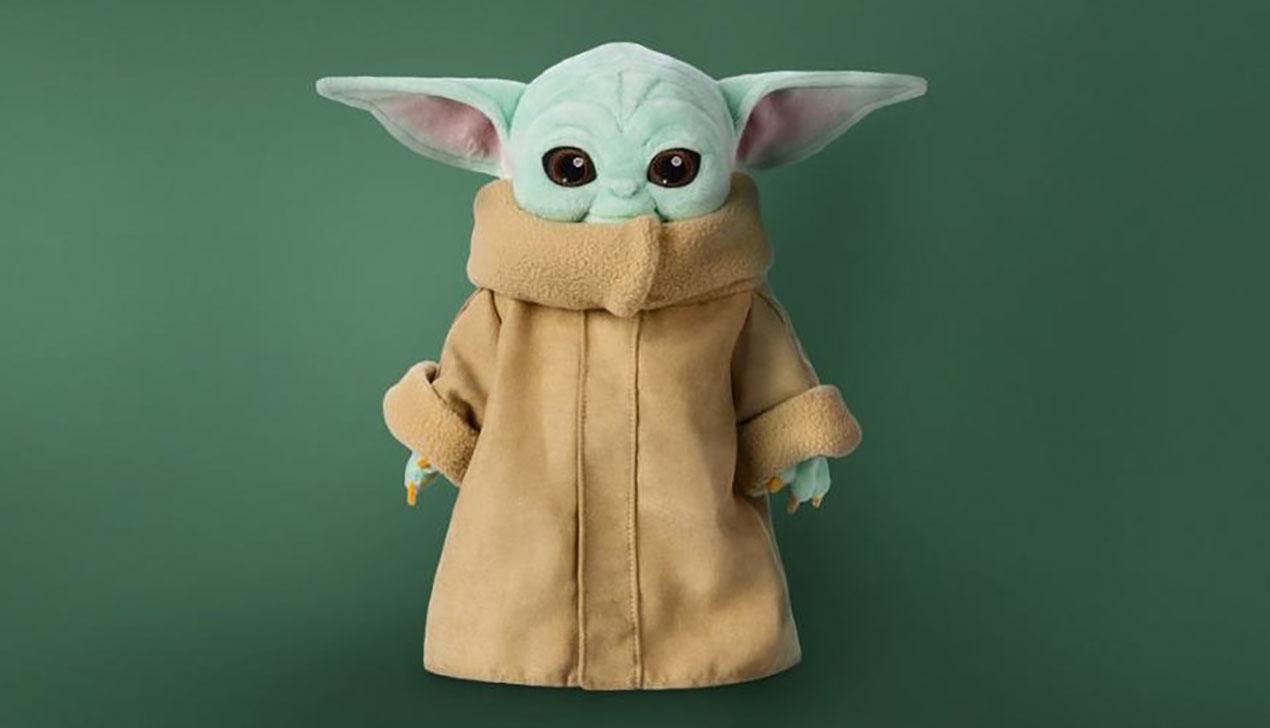 Disney запустил продажи плюшевого малыша Йоды