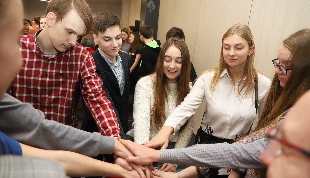 В Могилеве прошел креатон для старшеклассников «Першыя ідэі: інклюзія»