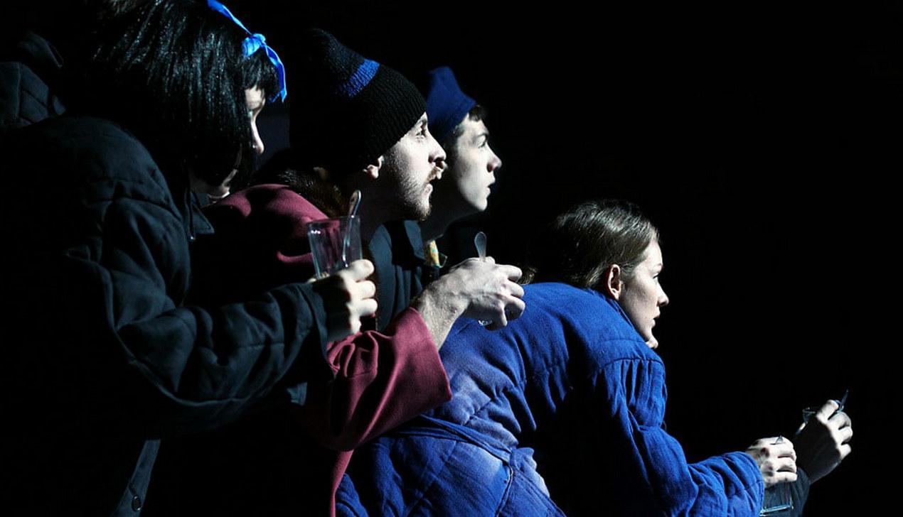 Спектакль «Шабаны» Купаловского театра по роману Альгерда Бахаревича покажут в прямом эфире на VOKA