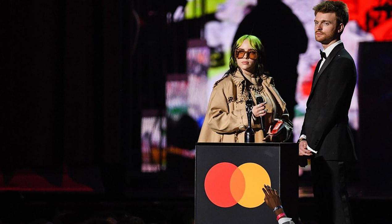 В Лондоне вручили музыкальную премию Brit Awards. Среди победителей — Стормзи, Билли Айлиш и Tyler, The Creator